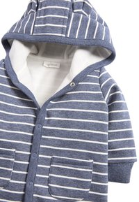 Next - BLUE COSY POPPER LIGHTWEIGHT JACKET (0MTHS-3YRS) - Zip-up hoodie - blue - 2