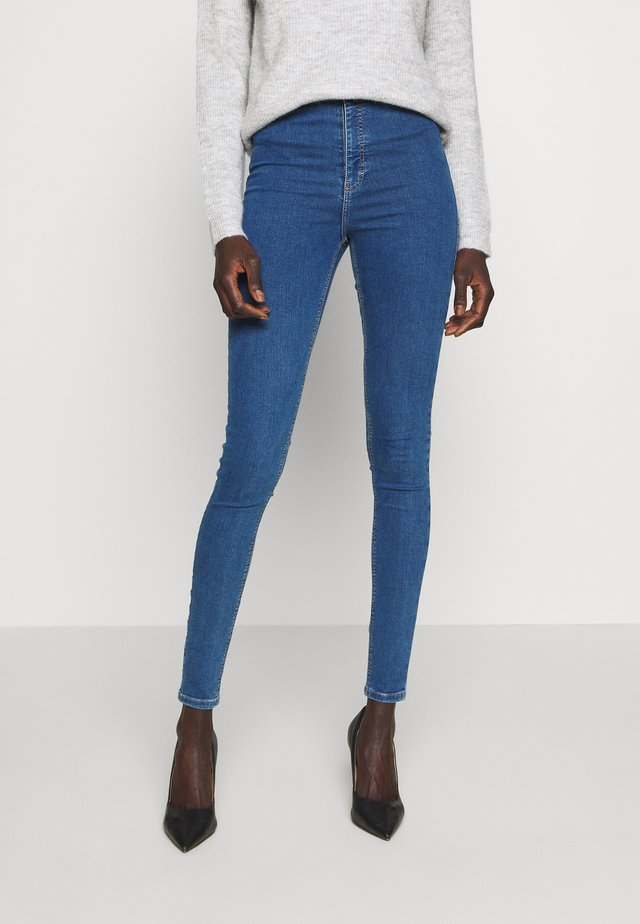 JONI CLEAN - Jeansy Skinny Fit - blue denim