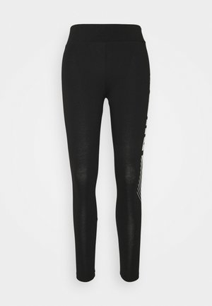 GRAPHIC LEGGINGS - Punčochy - black