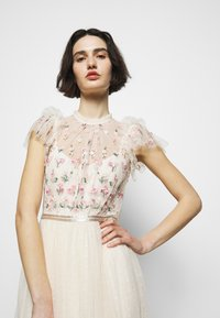 Needle & Thread - ROCOCO BODICE MAXI DRESS - Festklänning - champage - 3