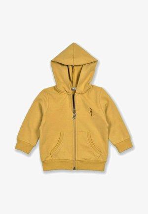 Felpa aperta - mustard yellow