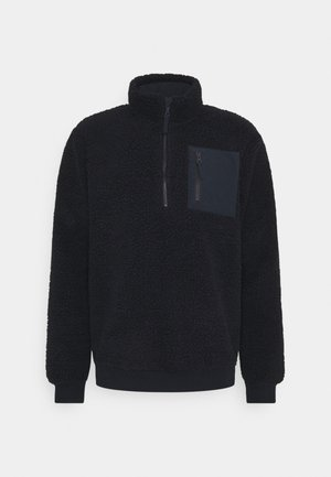 Fleece trui - dark blue