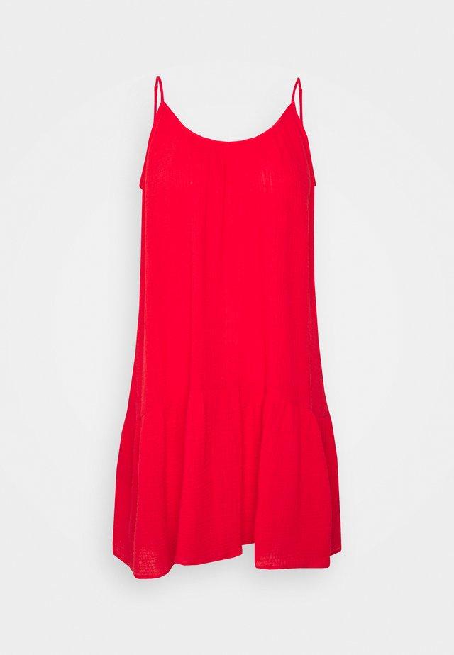 CHECK IN DOUBLE CLOTH - Negligé - chilli