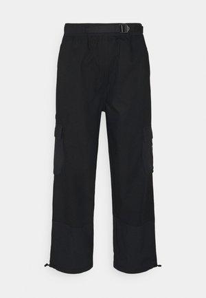 CARGO PANT UNISEX - Pantalones cargo - black