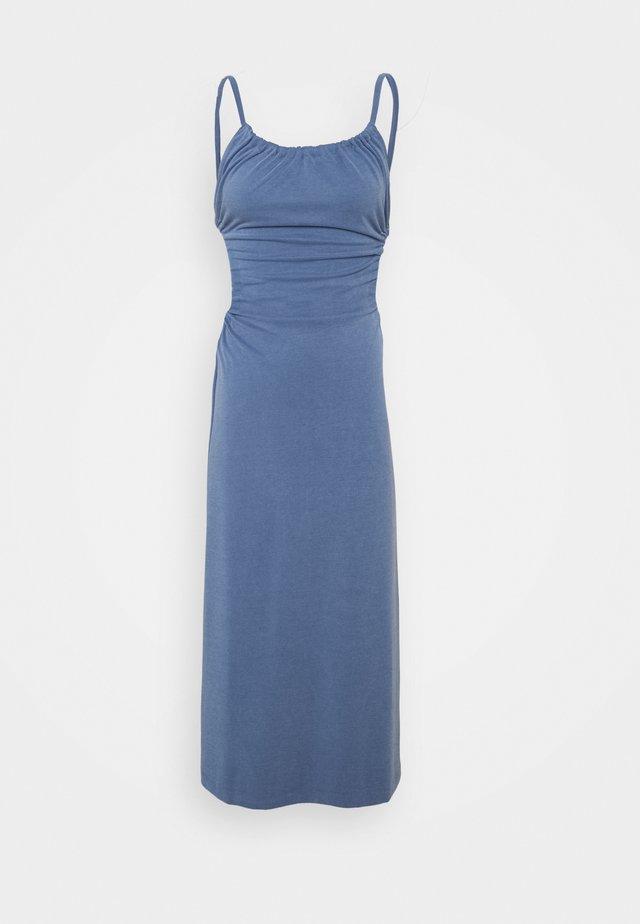 PULL IN DRESS - Jerseyjurk - denim blue