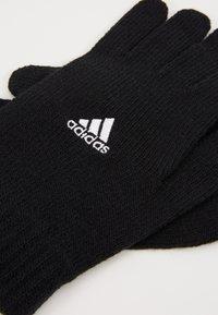 adidas Performance - TIRO FOOTBALL GLOVES - Hansker - black/white - 5