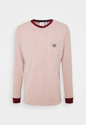 SAMSTAG TERRY - Long sleeved top - pink