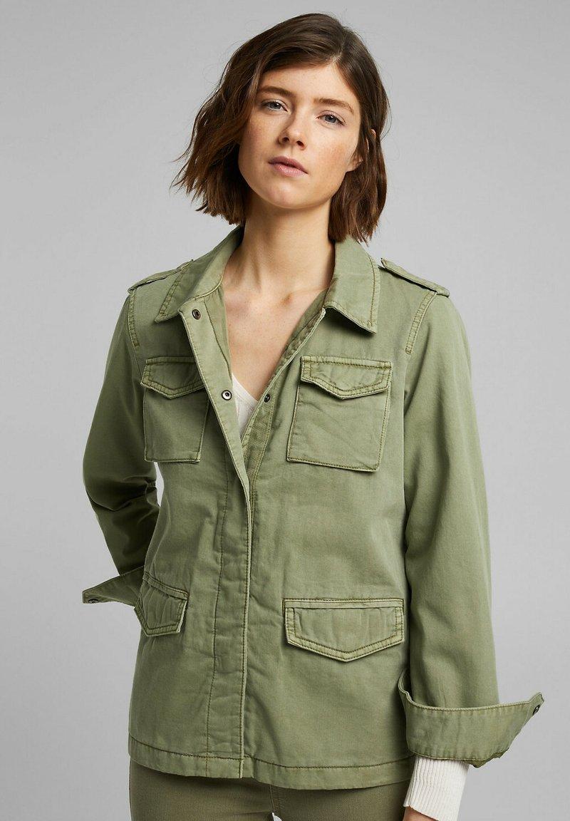 Esprit - Summer jacket - light khaki