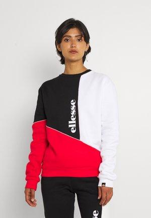 MARITIMA - Sudadera - red/white/black