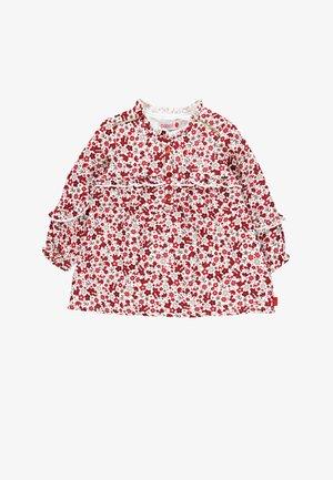 FANTASIE - Shirt dress - white/red