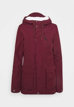 WANDERLUST JACKET - Snowboardjacka - windsor wine