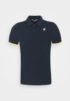 VINCENT CONTRAST STRETCH UNISEX - Polo shirt - blue depth