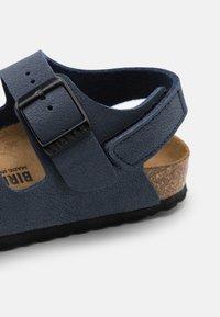 Birkenstock - MILANO UNISEX - Sandals - navy - 5