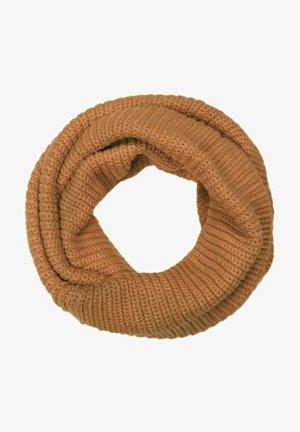 Unisex Feins einfarbiger Loop Schlauchs - Snood - camel
