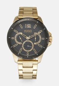 HUGO - SPORT - Montre - gold-coloured/black - 0