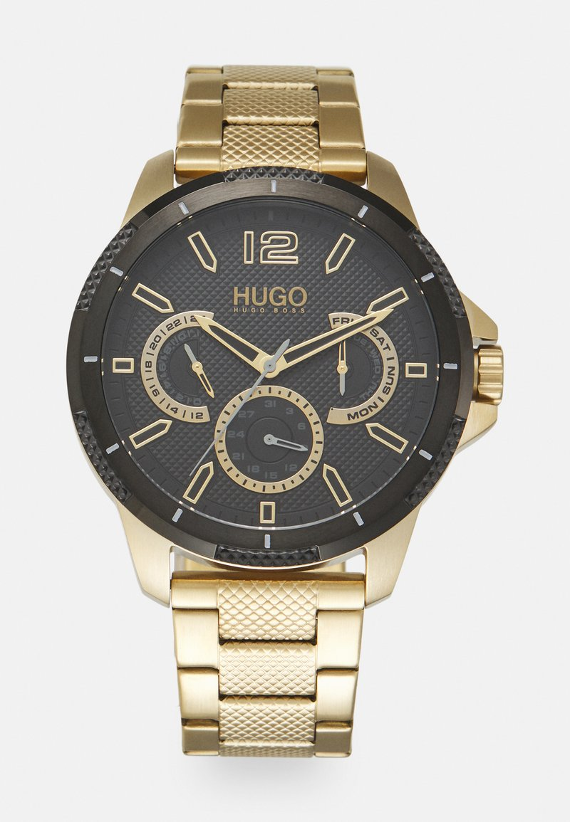 HUGO - SPORT - Montre - gold-coloured/black