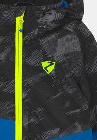 Ziener - ABIAN JUN UNISEX - Snowboardová bunda - persian blue - 3
