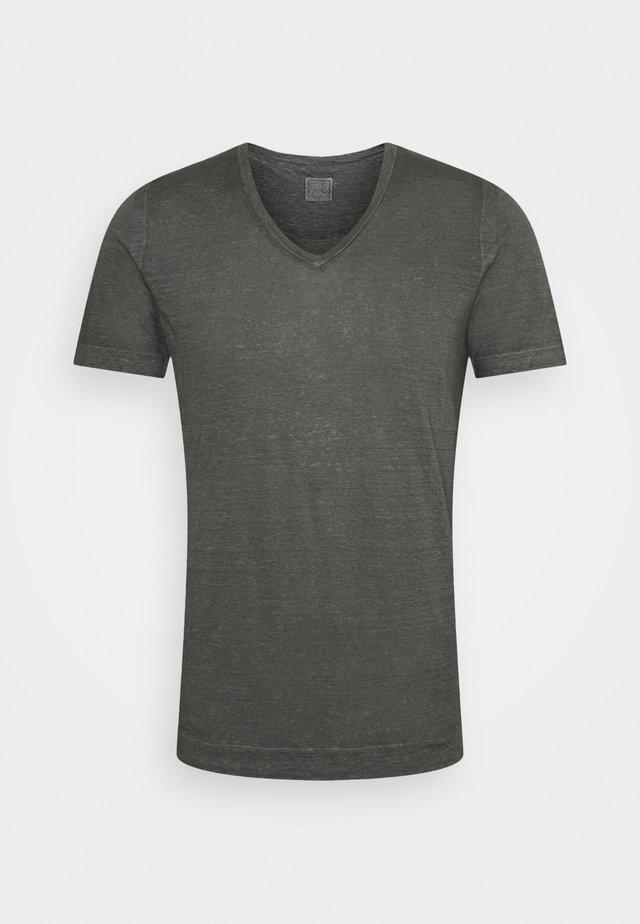SHORT SLEEVE - T-shirt - bas - iron