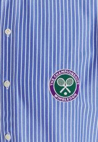 Polo Ralph Lauren - INTERLOCK FULL ESTATE - Shirt - court blue/white - 7