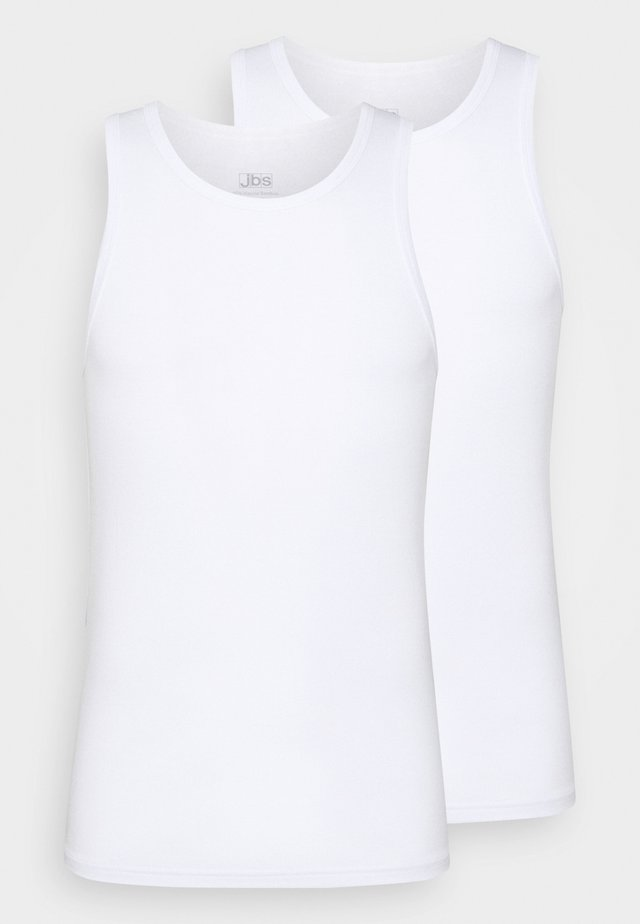 SINGLET 2 PACK - Caraco - weiss