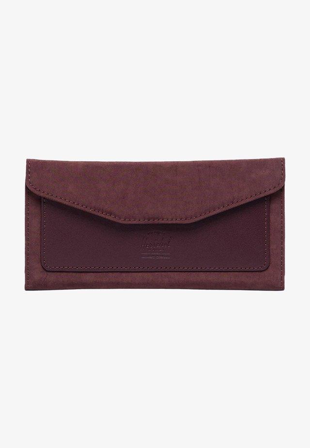 Wallet - deep burgundy