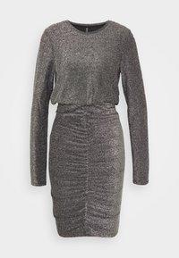 PIECES Tall - PCRINA DRESS - Cocktail dress / Party dress - silver - 0