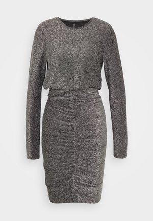 PCRINA DRESS - Cocktailjurk - silver