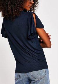 River Island - Print T-shirt - blue - 2