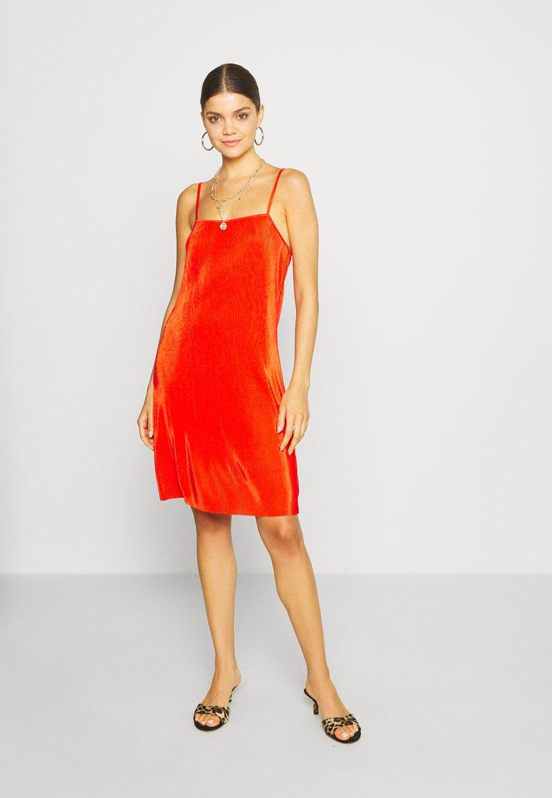 Even&Odd - Korte jurk - orange