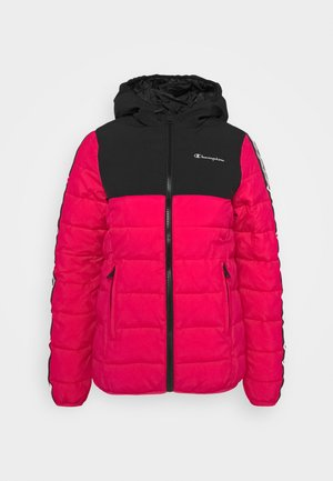 HOODED JACKET LEGACY - Trainingsvest - pink/black