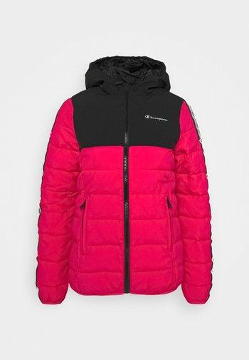 HOODED JACKET LEGACY - Training jacket - pink/black
