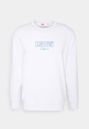 GRAPHIC CREW UNISEX - Sweatshirt - white