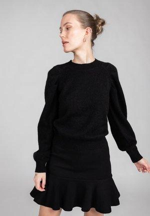 SIMONETTA  - A-line skjørt - black