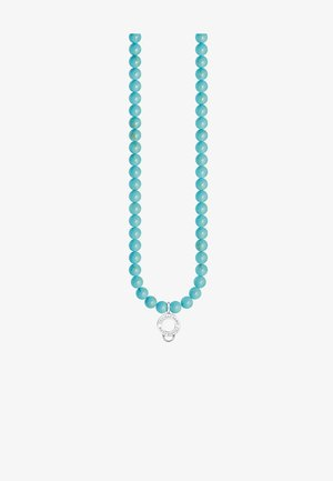 Ketting - silver-coloured/turquoise