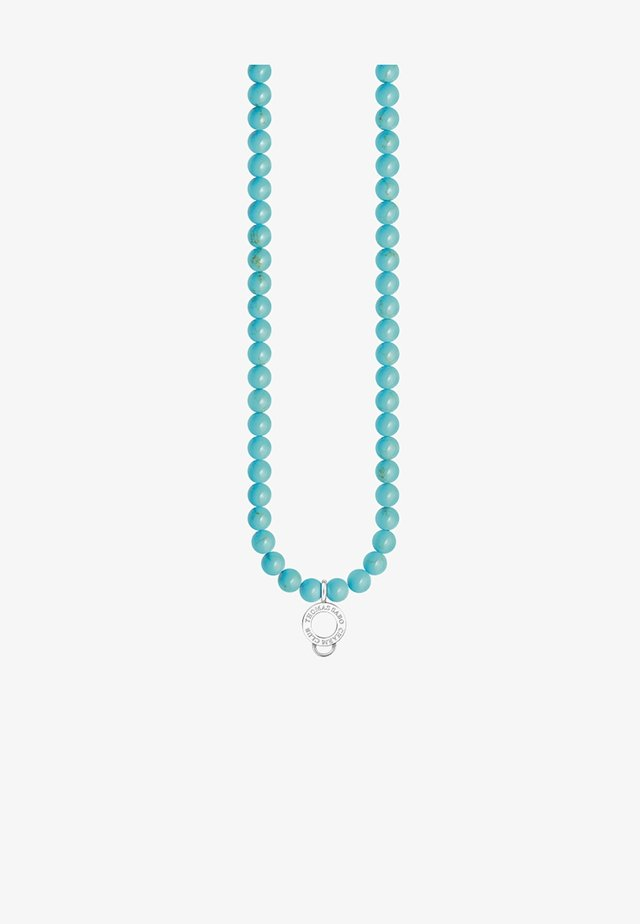 Halskette - silver-coloured/turquoise