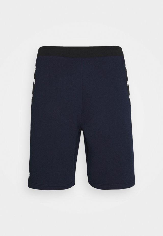 SHORT - Krótkie spodenki sportowe - navy blue/black