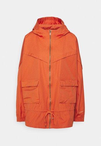 Summer jacket - light sienna/healing orange