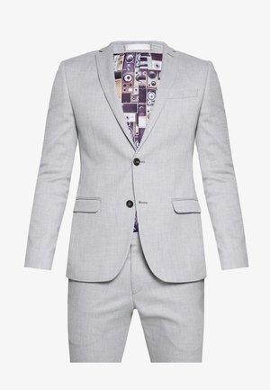 COOL STRUCTURE SUIT SKINNY FIT - Suit - grey
