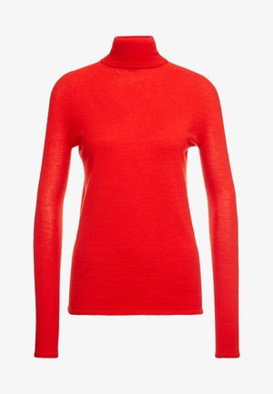RIVER ROLL NECK - Jumper - mondiran red