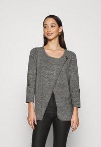 ONLY - ONLELLE CARDIGAN - Cardigan - medium grey melange - 0