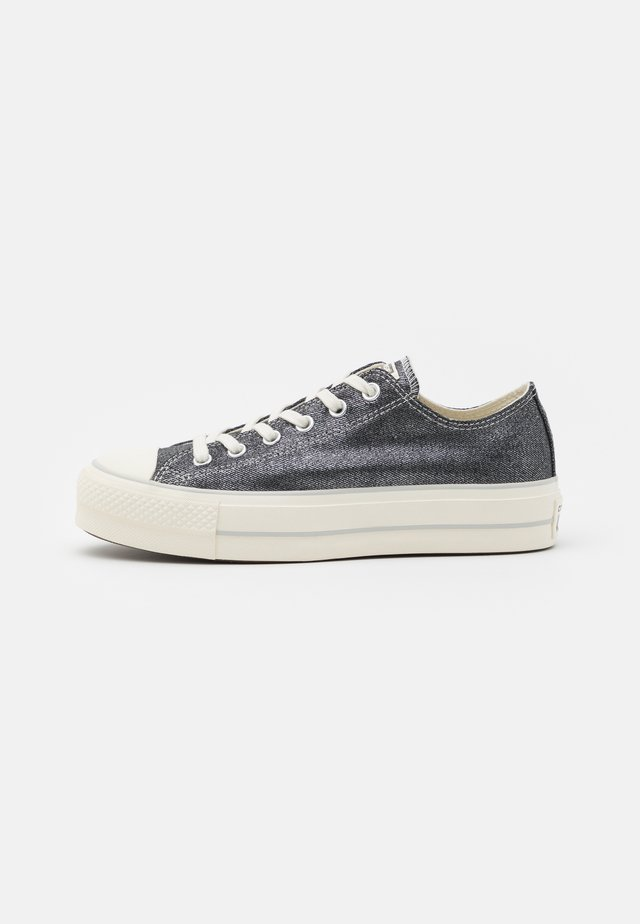 CHUCK TAYLOR ALL STAR LIFT - Sneakers laag - black/egret/silver
