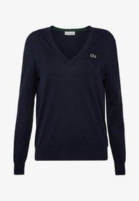 Lacoste - AF5475 - Sweater - navy blue - 4