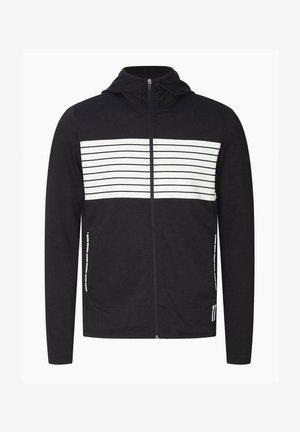 Jersey con capucha - black