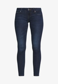 ONLCORAL SKINNY ANK - Skinny džíny - dark blue denim