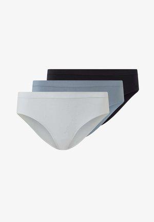 3ER-PACK - Alushousut - black, grey