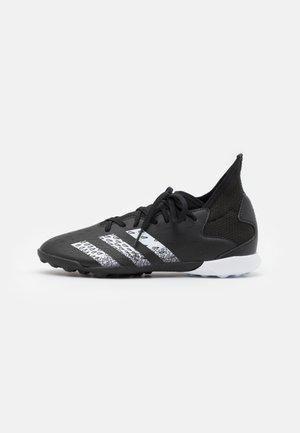 PREDATOR FREAK .3 TF UNISEX - Astro turf trainers - core black/footwear white