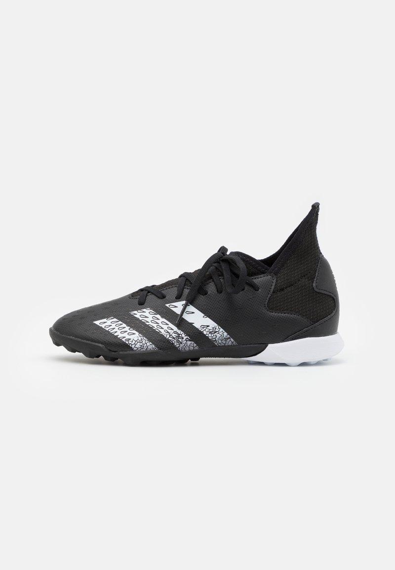 adidas Performance - PREDATOR FREAK .3 TF UNISEX - Astro turf trainers - core black/footwear white