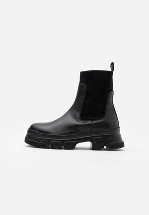 AMELY  - Platform ankle boots - nero