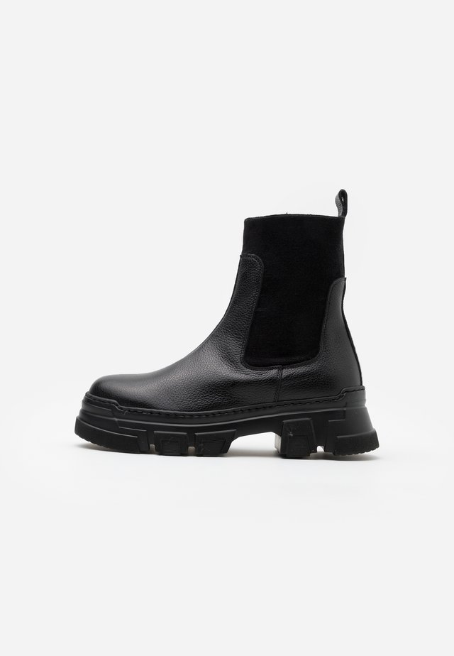 AMELY  - Bottines à plateau - nero