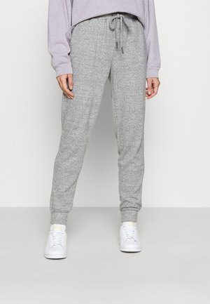NMMISA CITY PANTS - Tracksuit bottoms - medium grey melange